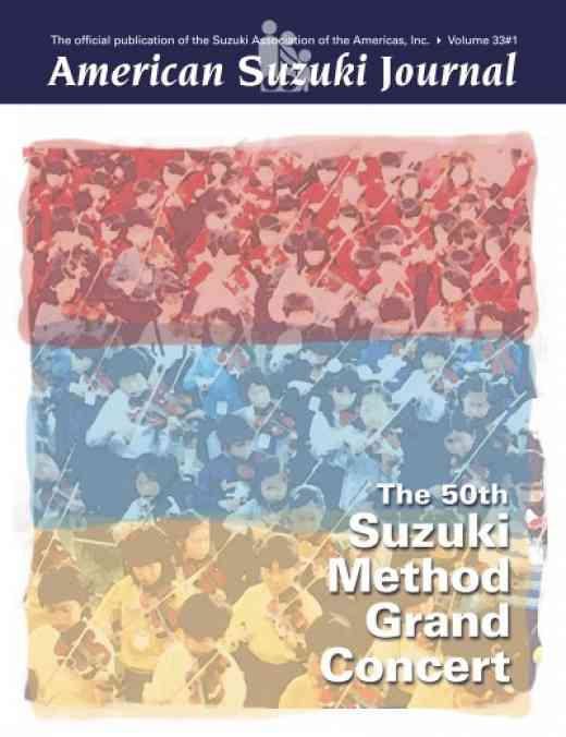 American Suzuki Journal volume 33.1