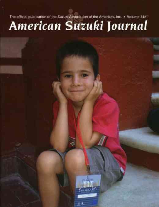 American Suzuki Journal volume 34.1