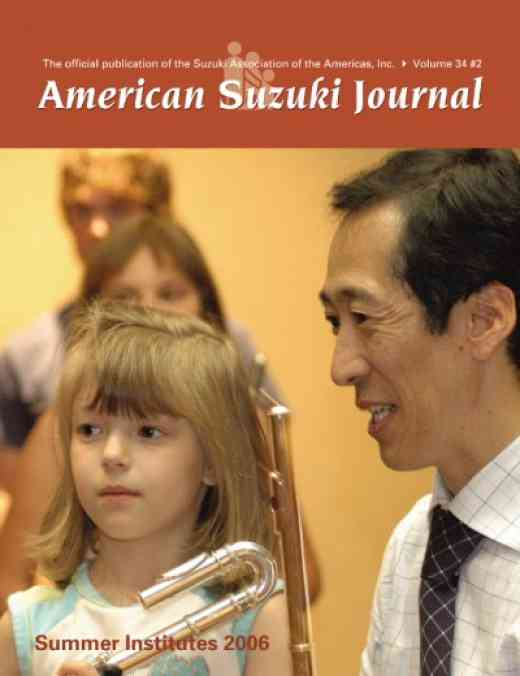 American Suzuki Journal volume 34.2
