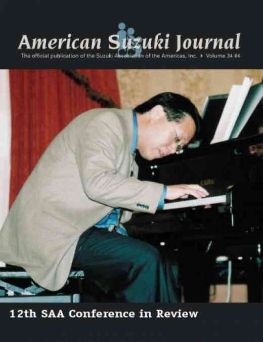 American Suzuki Journal volume 34.4