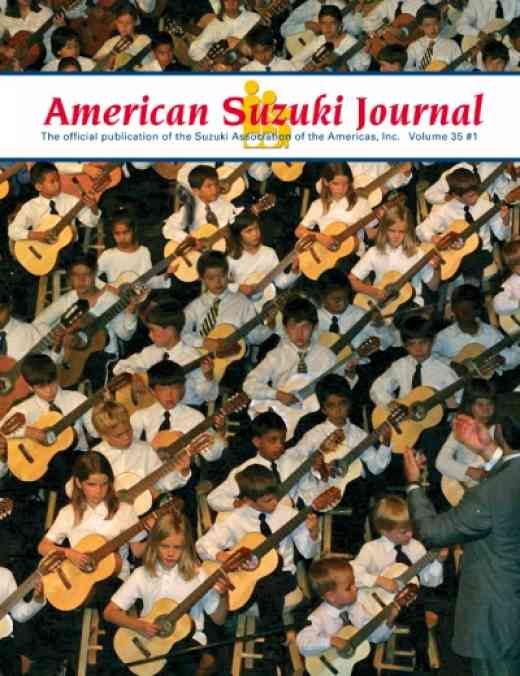 American Suzuki Journal volume 35.1
