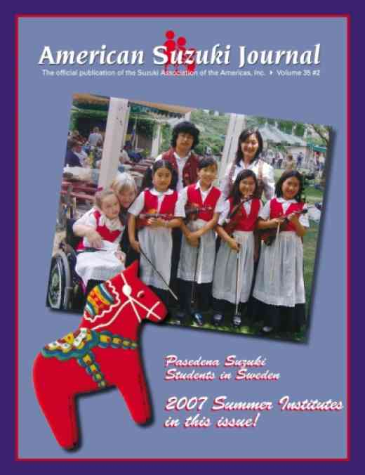 American Suzuki Journal volume 35.2