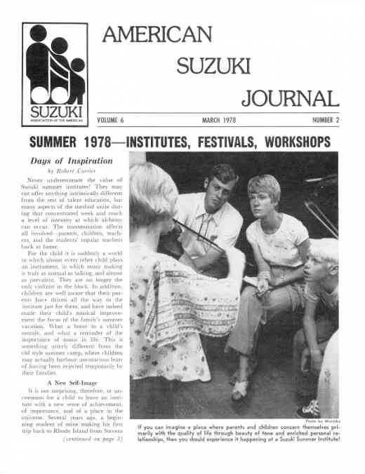 American Suzuki Journal volume 6.2