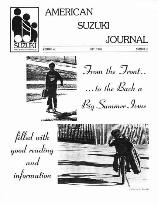 American Suzuki Journal volume 6.4