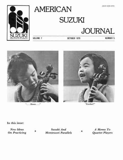 American Suzuki Journal volume 7.5