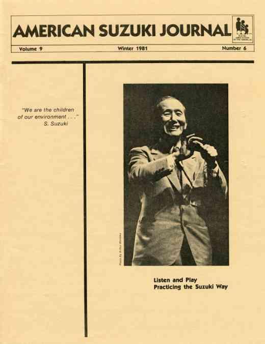 American Suzuki Journal volume 9.6