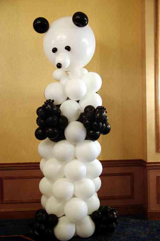 Balloon panda at the 2010 Conference