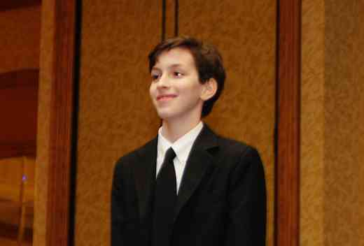 Noah Krauss, piano concerto performer, at the 2010 Conference