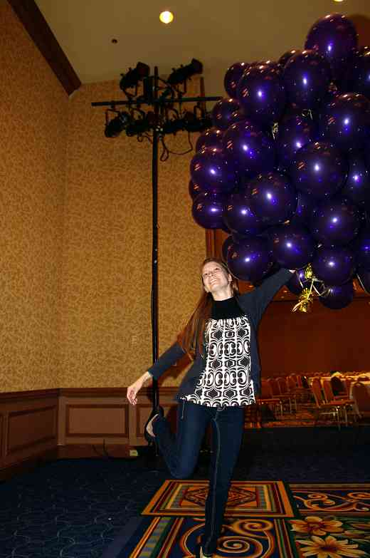 We had a LOT of balloons at the 2010 Conference!