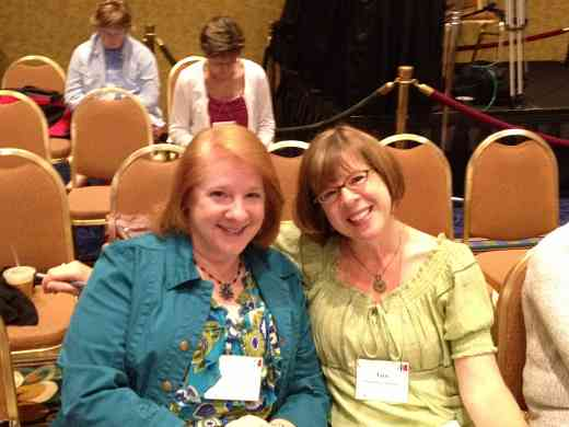 Ann Montzka-Smelser and friend at the 2012 conference