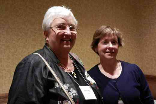 Dorothy Jones and Lynn McCall at the 2012 Conference