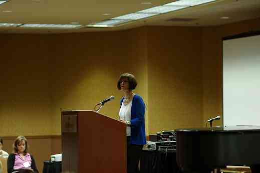 """Gail Johansen speaks on """"From Studio to Home Without Getting Lost"""""""