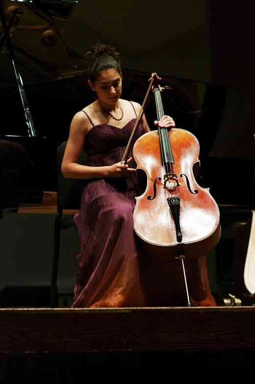 Lucie Ticho performs in the Kaleidoscope Concert