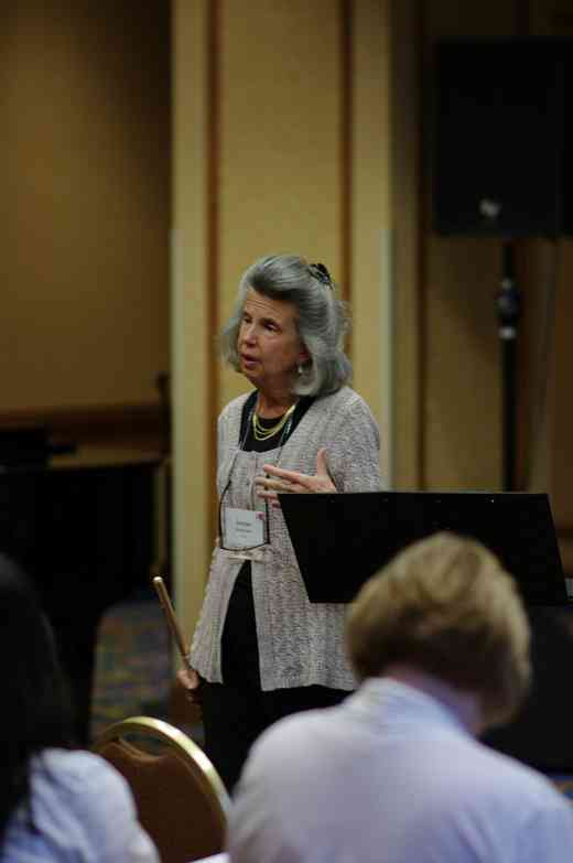 Jeanne Baxtresser gives a session at the 2012 conference