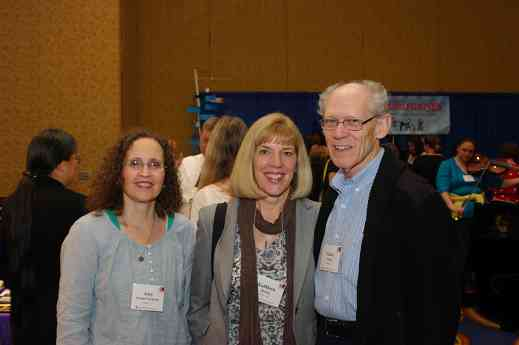 Amy Gesmer-Packman, Kathleen Spring, and Glenn Spring at the 2012 Conference