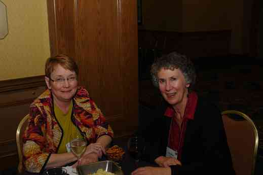 Marilyn O'Boyle and friend at the 2012 conference