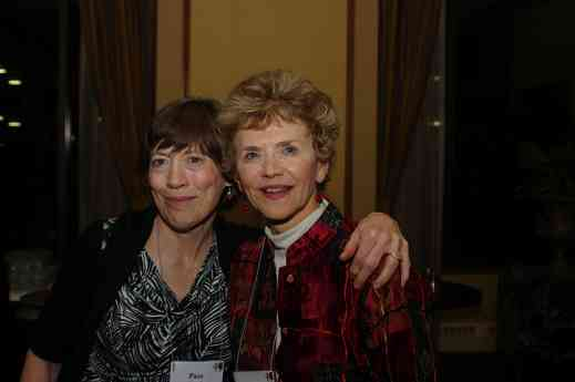 Pam Brasch and Marilyn George at the 2012 conference