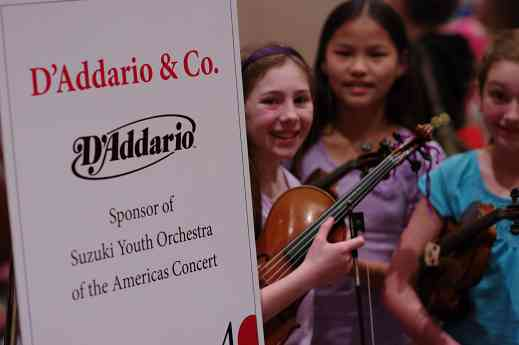 D'Addario & Co. sponsored the 2012 SYOA concert