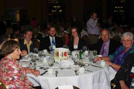 Canadians Pierre Gagnon, Jesse Dietschi, Kate Einarson, Don Jones, Dorothy Jones at the 2012 Conference