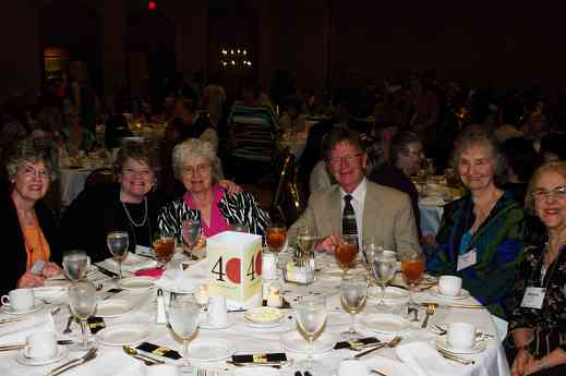 Beth Titterington, Rita Hauck, Diane Egli, Marjorie Lin at the 2012 conference