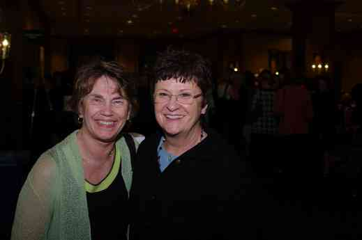 Nancy Lokken and Gail Seay at the 2012 conference