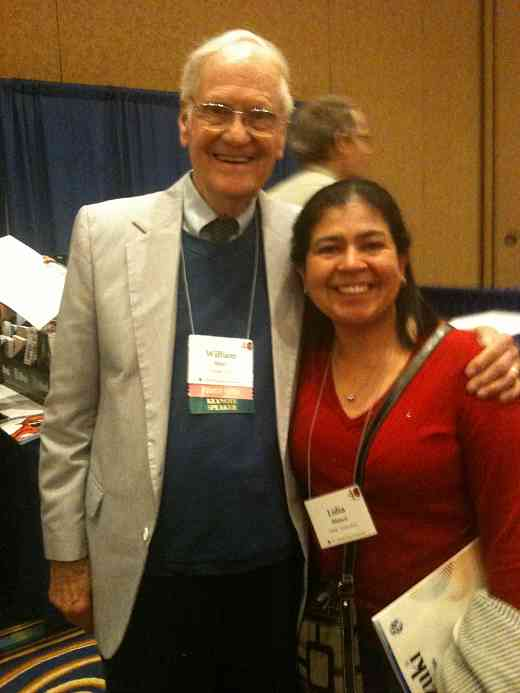 Bill Starr & Lidia Blanco at the 2012 Conference