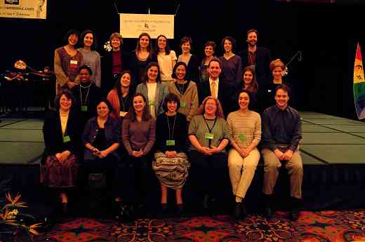 Cleveland Institute of Music graduates at the 2002 SAA Conference