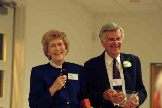 Constance and Bill Starr at the 2002 SAA Conference