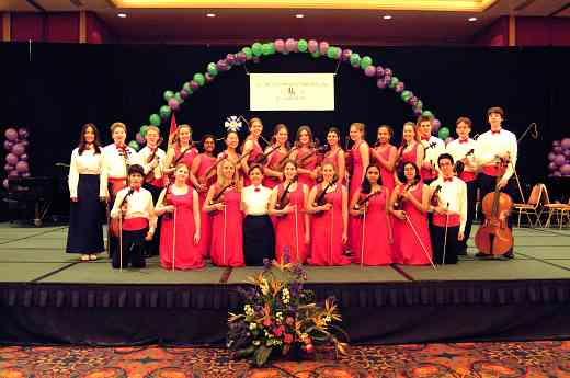 Buffalo Suzuki Strings performance, International Ensembles concert at the 2002 SAA Conference