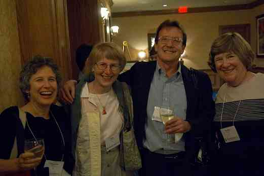 Francoise Pierredon, Joan Krzywicki, Bruce Anderson, and Marilyn Montzka at the 2006 SAA Conference