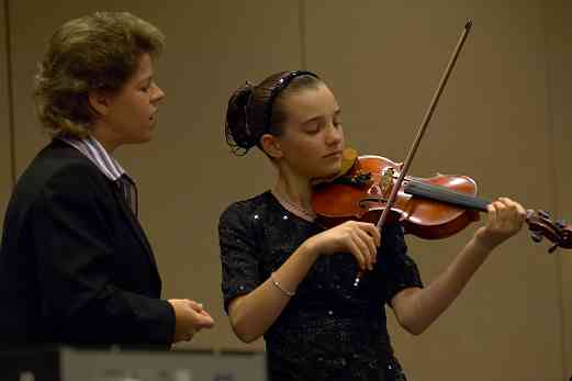 Viola masterclass with Susan Dubois at the 2006 SAA Conference