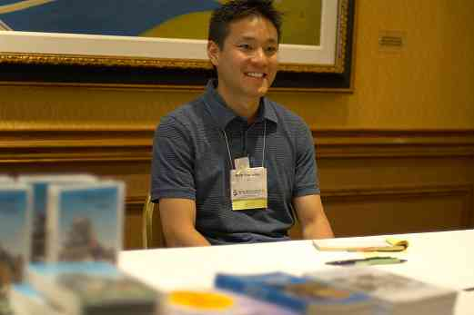 Brett Yamashita, SAA staff member, at the 2006 SAA Conference