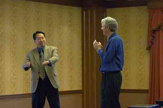 Brian Chung and Brian Ganz at the 2006 SAA Conference