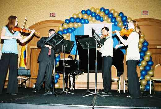 String Quartet masterclass.
