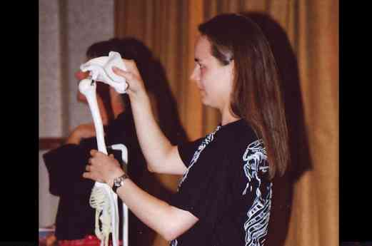 Kerry Travers, Body-Mapping Session, co-presented with Maia Travers at the 2006 SAA Conference