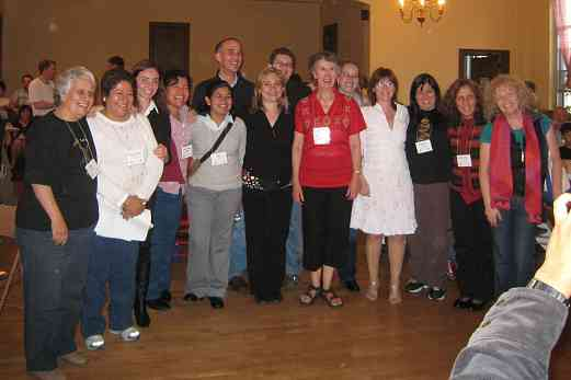 Latin American teachers at the 2008 SAA Conference