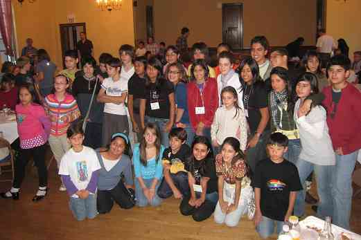 Latin American students at the 2008 SAA Conference
