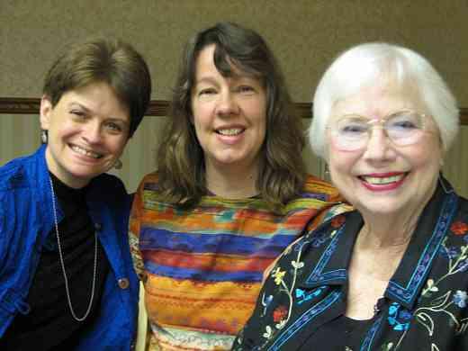 Rebecca Paluzzi, MaryLou Roberts, and Doris Harrel.