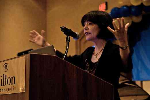 "Dr. Carol Dweck, keynote speaker on ""Mindsets and Music: Developing Children's Talent"" at the 2008 SAA Conference"