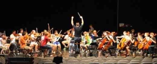 Orchestra concert at Institut Suzuki Montréal