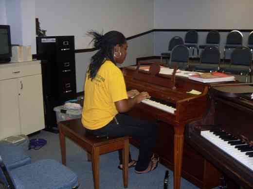 Pianist at Greater New Orleans Summer Suzuki Music Camp