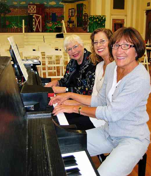 Piano teachers at Suzuki by the Green