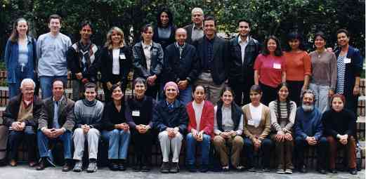 Participants in the IV Festival Suzuki de Colombia, June 24 to July 7, 2002.