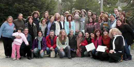 Participants in the first International Suzuki Festival in Patagonia