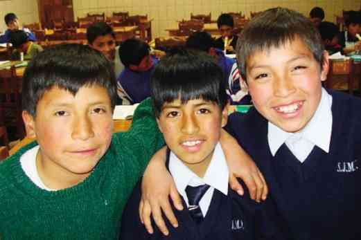 Students from Peru
