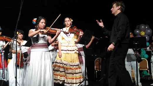 Latin American Ensemble at the Conference