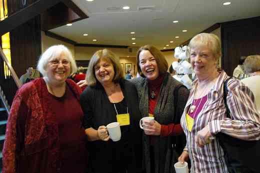 Gilda Barston, Teri Einfeld, Linda Fiore, and Lorraine Fink