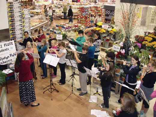 London Flutes Fundraiser for South American Flute Programs