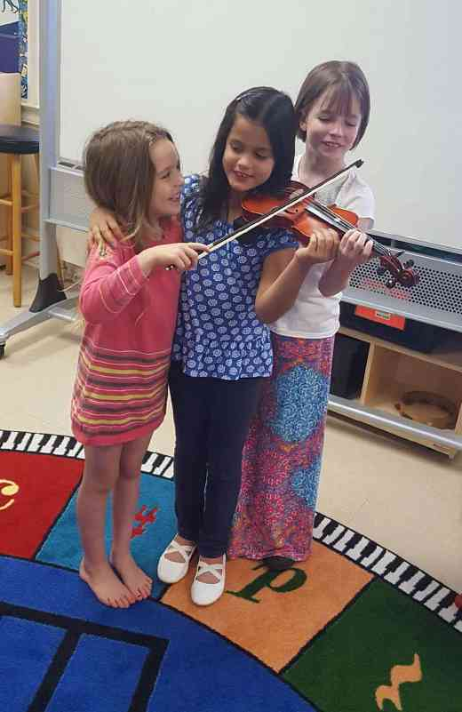 How many violinists does it take to play Twinkle?