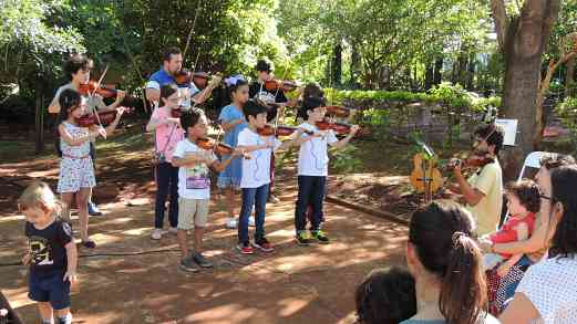 Suzuki Violin Recital at Waldorf Kindergarten